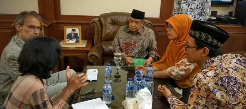 Meeting with Prof Dr. Said Aqil Siradj