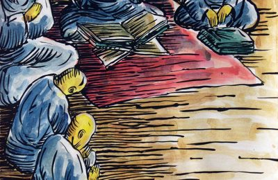 Lalu duduklah Majelis Pengadilan dan dibukalah Kitab-kitab. (Dan 7:10)