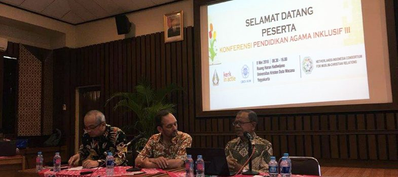 3rd Conference Inclusive Religious Education, May 8, 2018