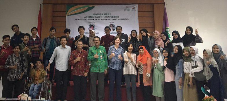 Seminar 'Cultural Exchange and Internship for Students'  FISHUM, UIN Sunan Kalijaga, November 9th, 2018
