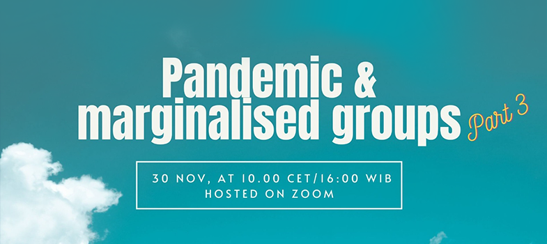 Pandemic & Marginalized groups, part 3